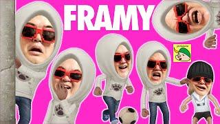 Framy超絶バカCG動画をキミの顔写真から自動生成するアバター作成アプリiOSでもAndroidでも