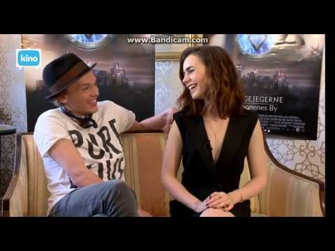 Lily Collins And Jamie Campbell Bower Kino TV Q&A