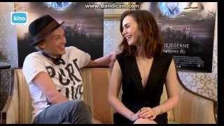 Lily Collins and Jamie Campbell Bower Kino TV Q&A streaming