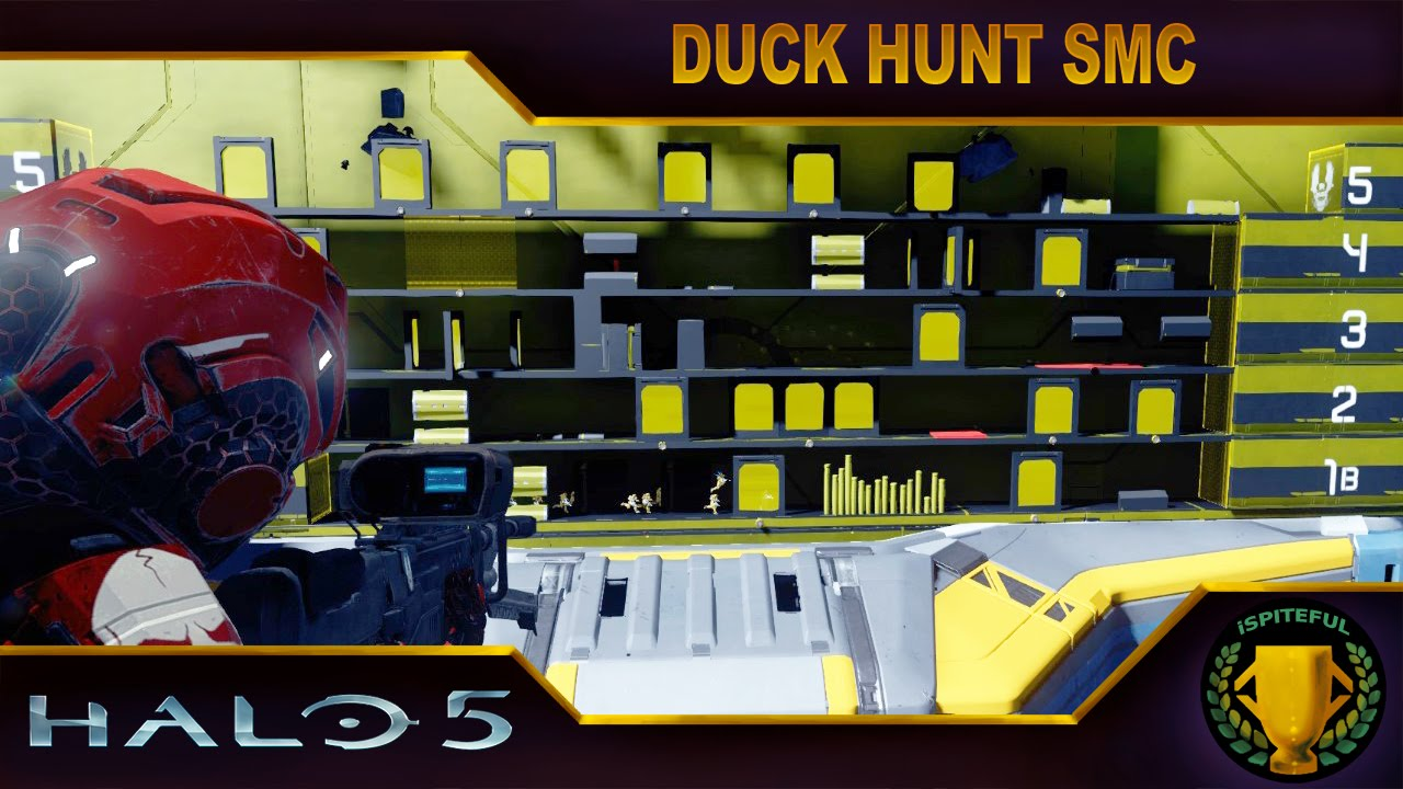 Halo 5 Custom Game : Duck Hunt SMC