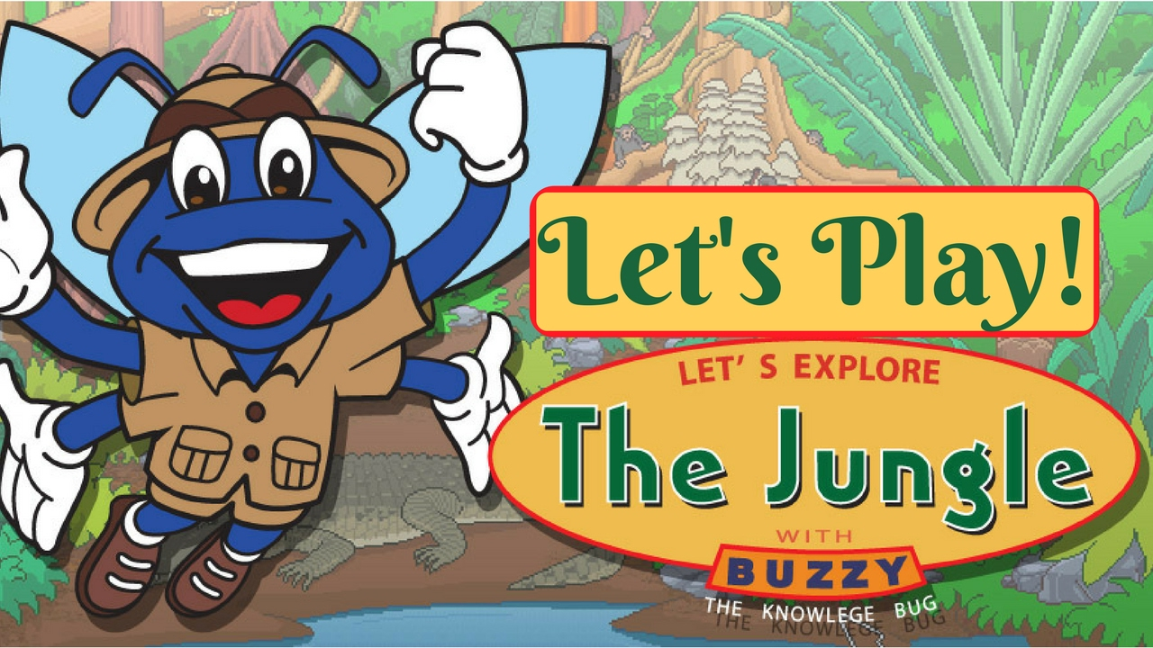 Let's Play Let's Explore the Jungle - Buzzy The Knowledge ...