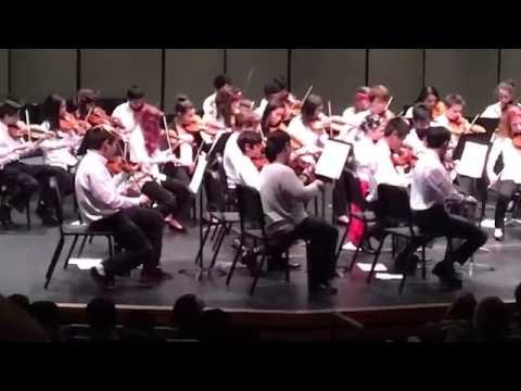 Einstein Middle School 8th Grade Symphony Orchestra Concert