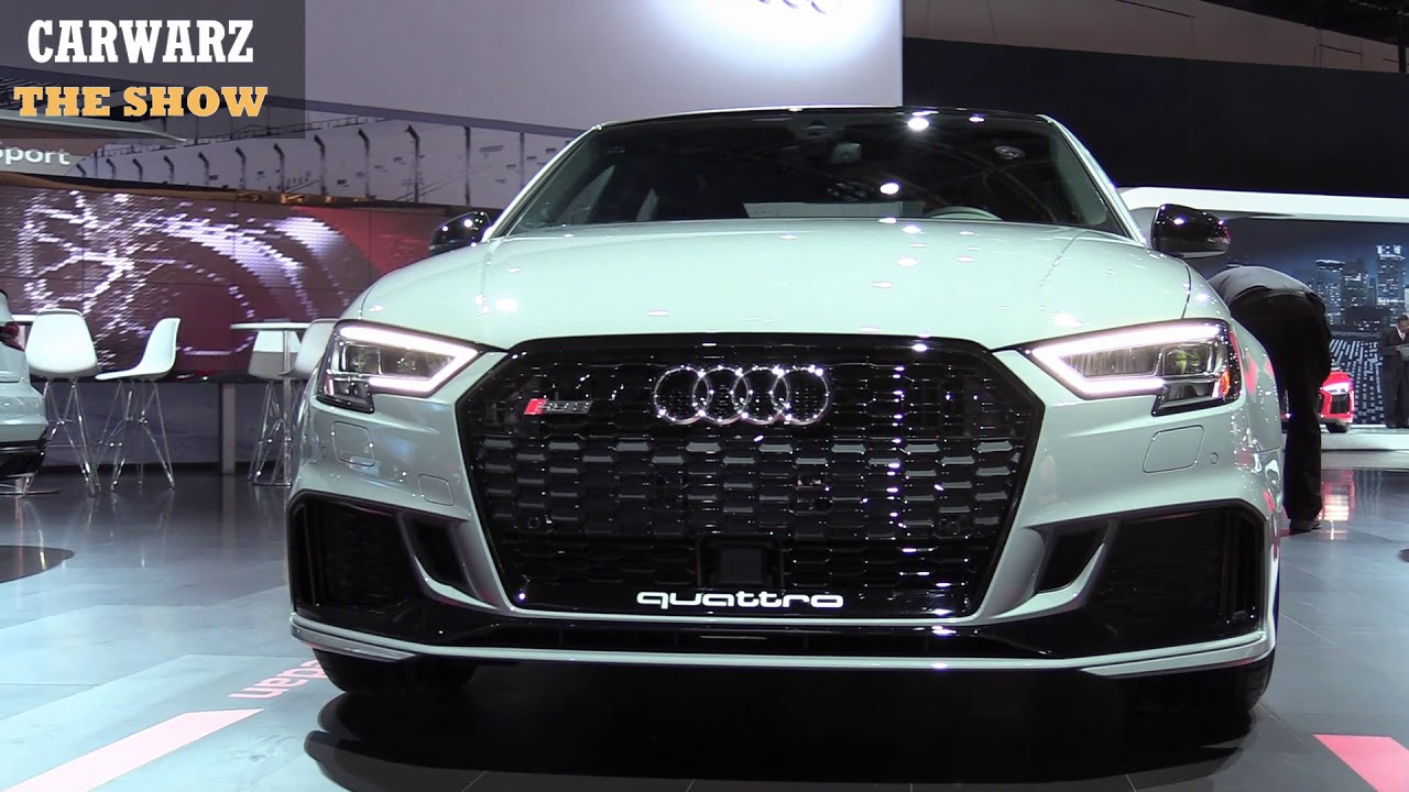2019 Audi RS 3 Sedan 400HP At The NAIAS