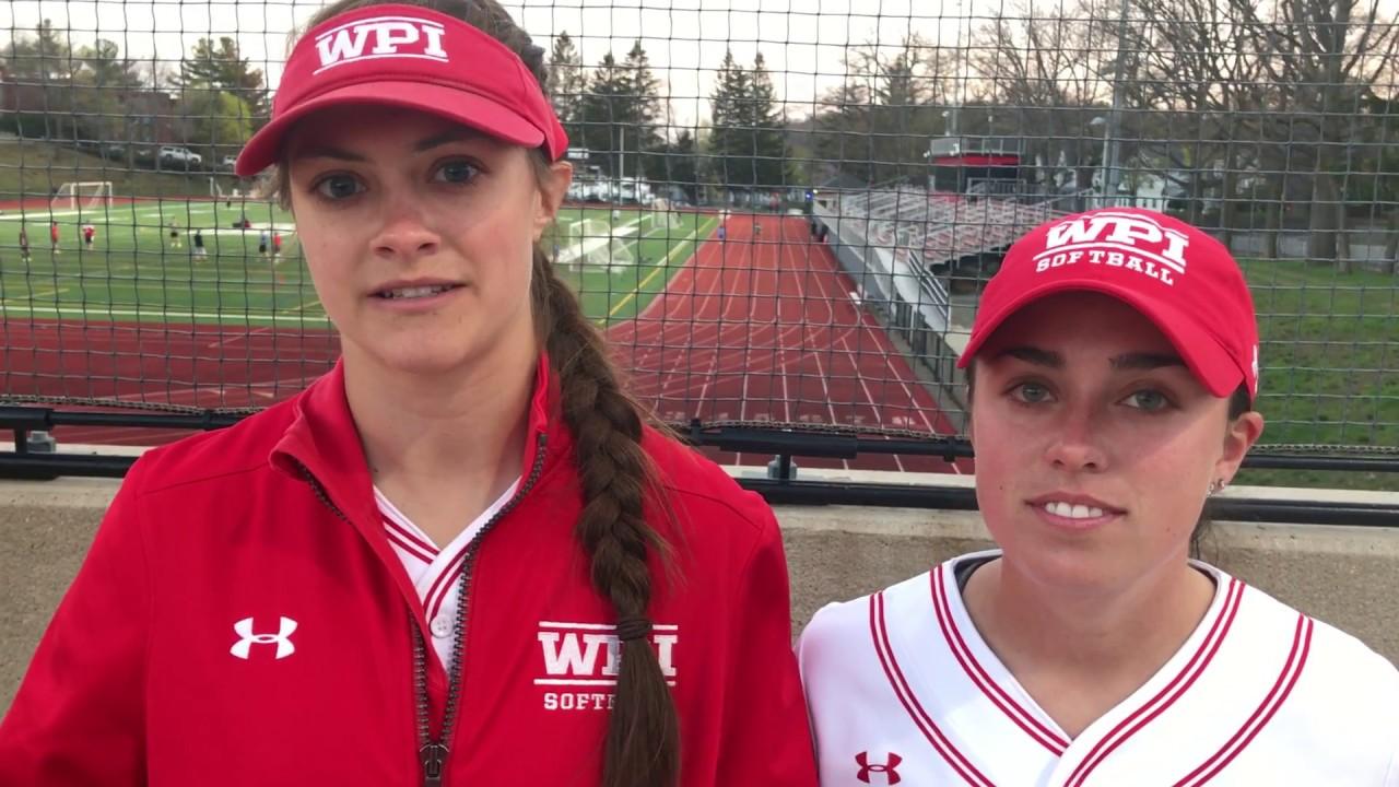 WPI Softball Post-Game Interview - Mackenzie Phillips and ...