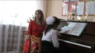Открытый урок с Усеновой Аделиной  (6 лет)