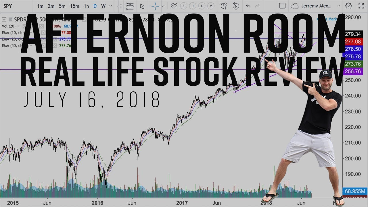 Special Real Life Trading Stock Review + Afternoon Swing ...
