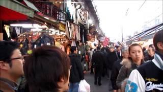 Tokyo trip: Day 3 (Ameyoko street market, Ueno)