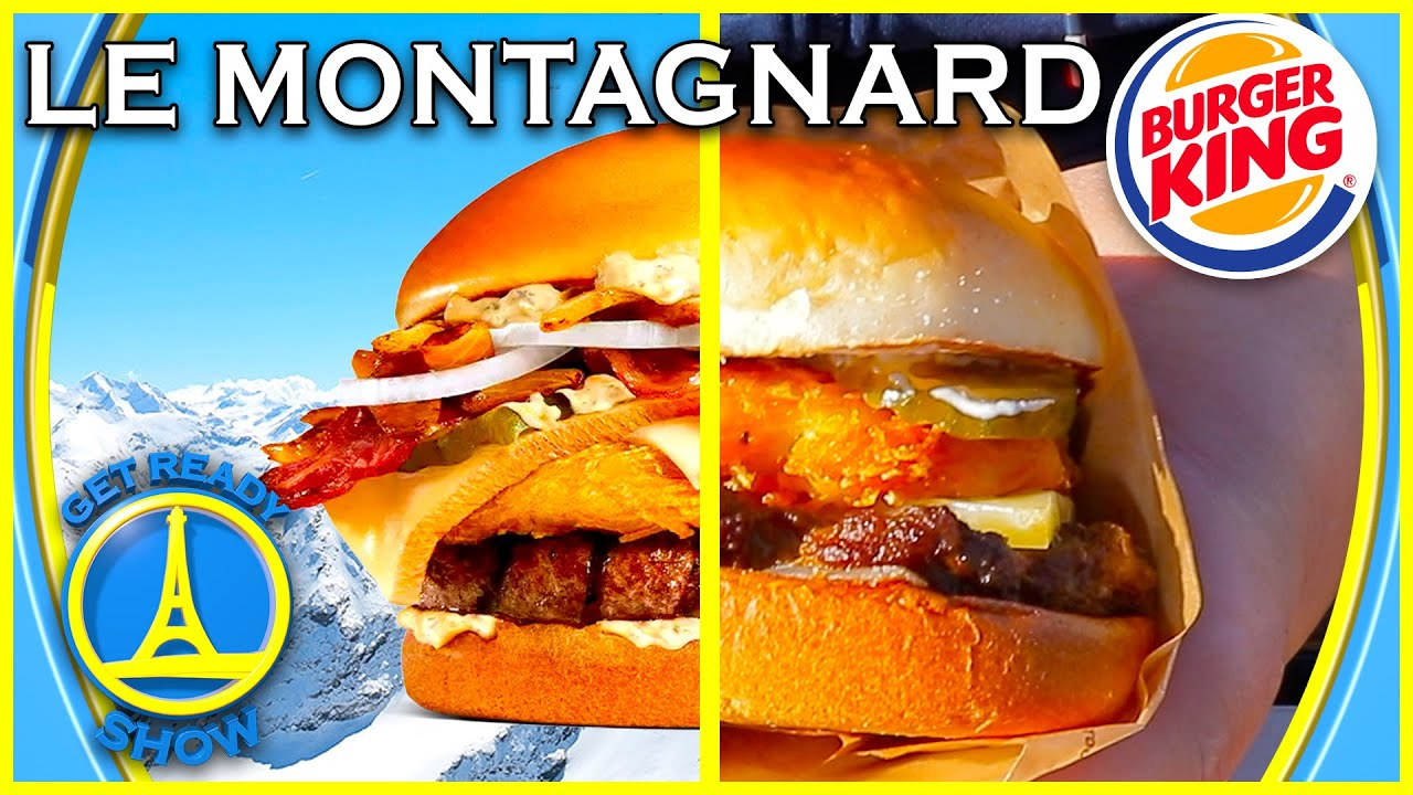 Download UN BURGER MONTAGNARD A LA RACLETTE ? (BURGER KING) - GET READY SHOW #140