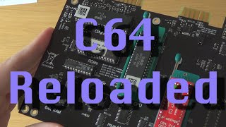 C64 Reloaded. The new Commodore 64 motherboard.