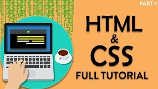 HTML5 and CSS3 tutorial in hindi | how to make websites | Part-1