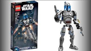 Лего Звездные войны. Джанго Фетт сборная фигура (75107). Обзор Lego Star Wars. LEGO Обзоры Warlord
