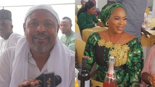 SAHEED BALOGUN AND FATHIA BALOGUN CLASHED  SHOLA KOSOKO 40TH BIRTHDAY PARTY