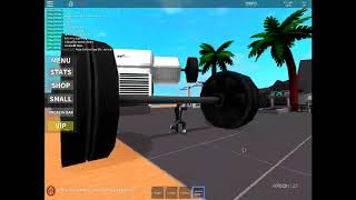geting abs and strong in roblox