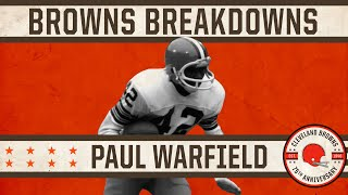 Taking a look back at Paul Warfield's Speed And Elusiveness | Browns Breakdowns
