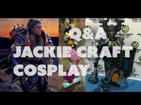 Prop: Live - Q&A with Jackie Craft Cosplay - 6/23/2016