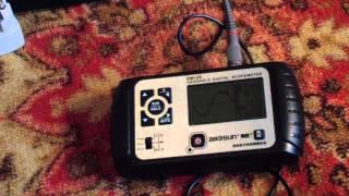 первый тест осциллографа EM-125