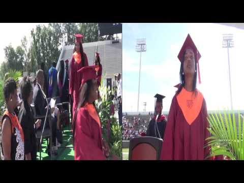 Orangeburg Wilkinson High School Graduation 2016