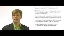 Federal Trade Commission Act - Deceptive Practices
