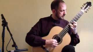 Xavier Coll, Guitar: Bach Cello Suite No. 6. Gigue