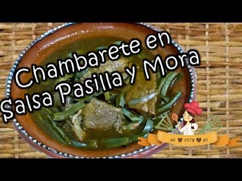 HOW TO MAKE BEEF IN MORITA AND PASILLA