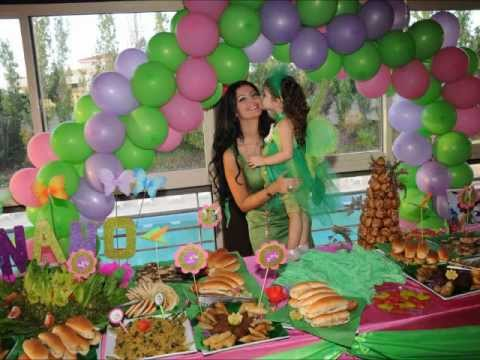 Tinkerbell Birthday Party by Vida - YouTube