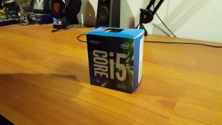Unboxing the i5 7500 kaby-lake CPU