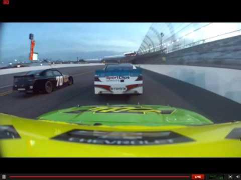 Cole Trickle onboard Daytona July 2013