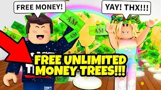 New FREE UNLIMITED MONEY TREES! Roblox Adopt Me Money Tree Update