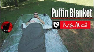Perfect Summer Blanket? - Nemo Puffin Blanket Review