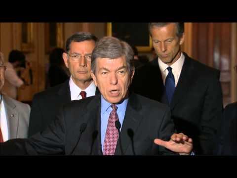 Senator Blunt Discusses Harmful Effects Of EPA's Clean Power Plan 8/4/15