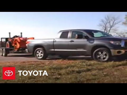 2007 - 2009 Tundra How-To: Towing Tips | Toyota
