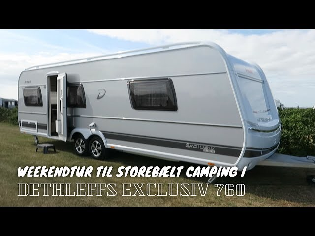 Weekendtur til Storebælt Camping i Dethleffs Exclusiv Snow 760 DR