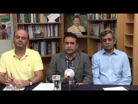 Video Briefing of Coordination Committee of MQM held on 22 April 2017