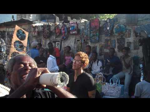 Haiti Two Weeks Ago, Happier Times--Ghetto Biennale