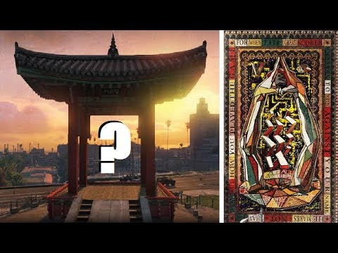 Hidden Maze Leads To Mysterious Location!!! (GTA 5 Jetpack / Chiliad Mystery)