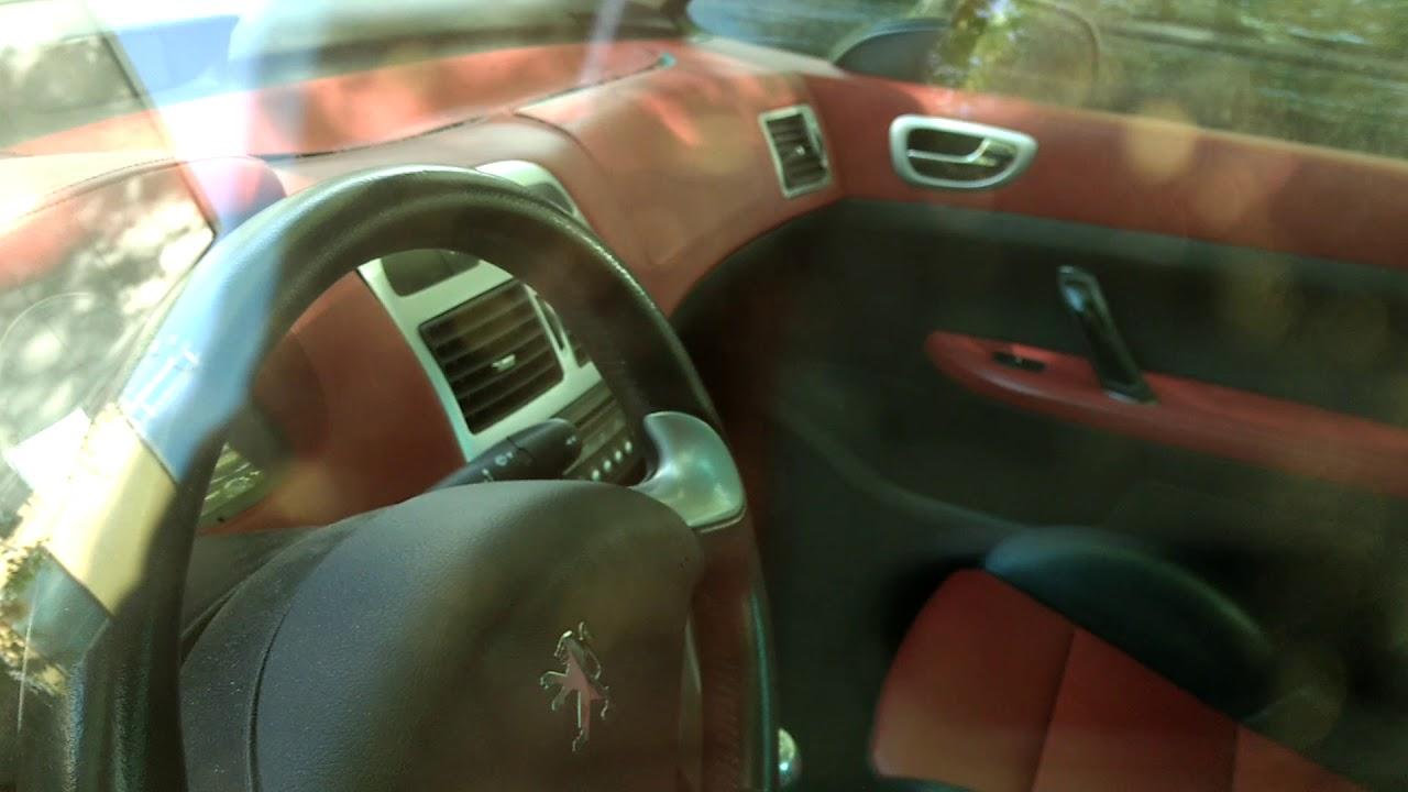 gebrauchtwagentest peugeot 307 cc - youtube