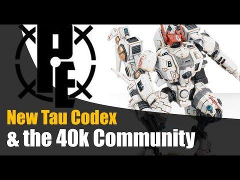 New Tau Codex & 40k Community Chat with Preferred Enemies Rob