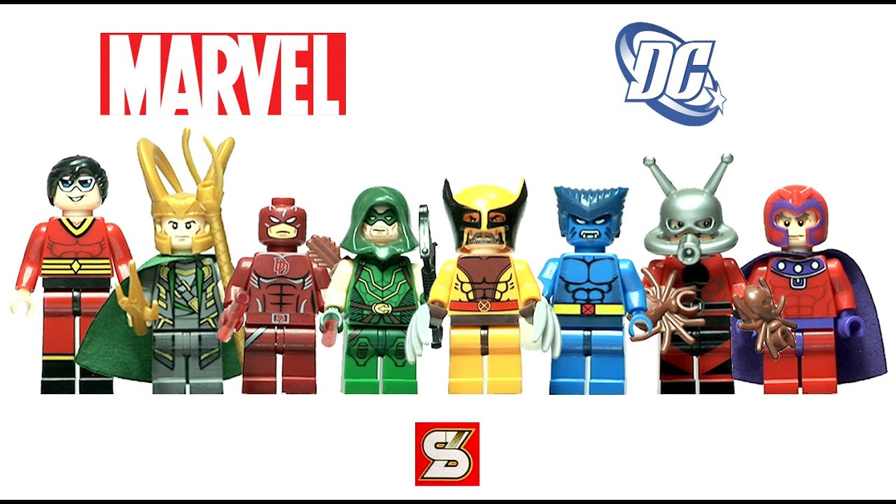 Unboxing Lego Superheroes Knockoff from Aliexpress - Sheng Yuan