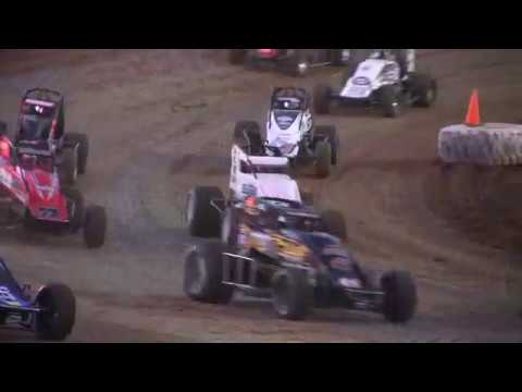 SPRINT CAR HEAT RACE 3 AT BROWNSTOWN SPEEDWAY 6-24-17