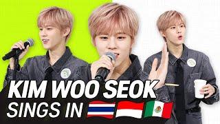 Download lagu K-POP STARS sing in THREE Languages🎤| INA/THAI/SPN | KIM WOO SEOK | TRANSONGLATION