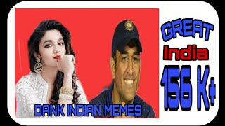 DANK INDIAN MEMES || M S DHONI || SUNNY DEOL || great india