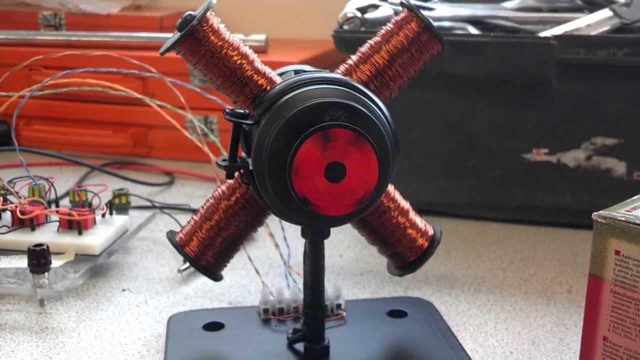 Stepper motor homemade youtube for How to make a homemade electric motor