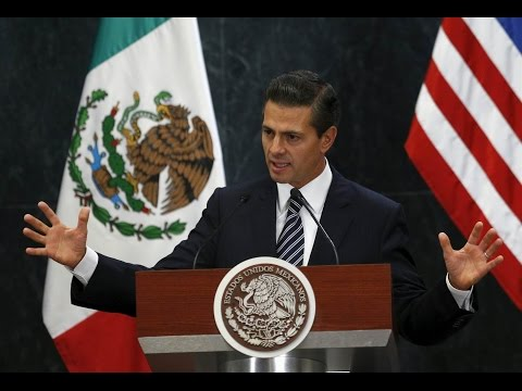 LIVE STREAM Mexican President Remarks on President Trump's Plans to Renegotiate NAFTA ✔