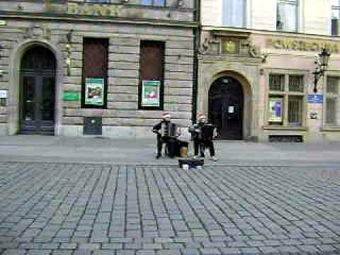 musica en la calle , breslavia, Polonia