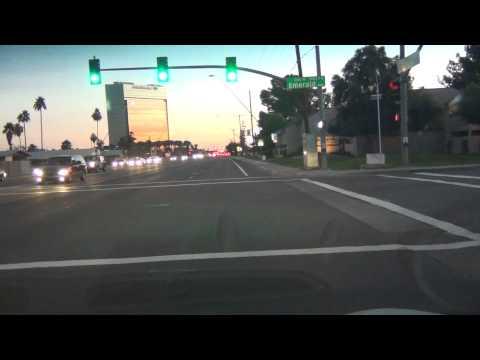 Mesa, Arizona, Alma School Rd drive south from Main Street to Southern Rd, Fiesta Mall