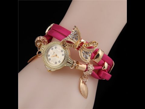 Party wear Designer ladies watch with price ||  stone collection || ladies ghadi