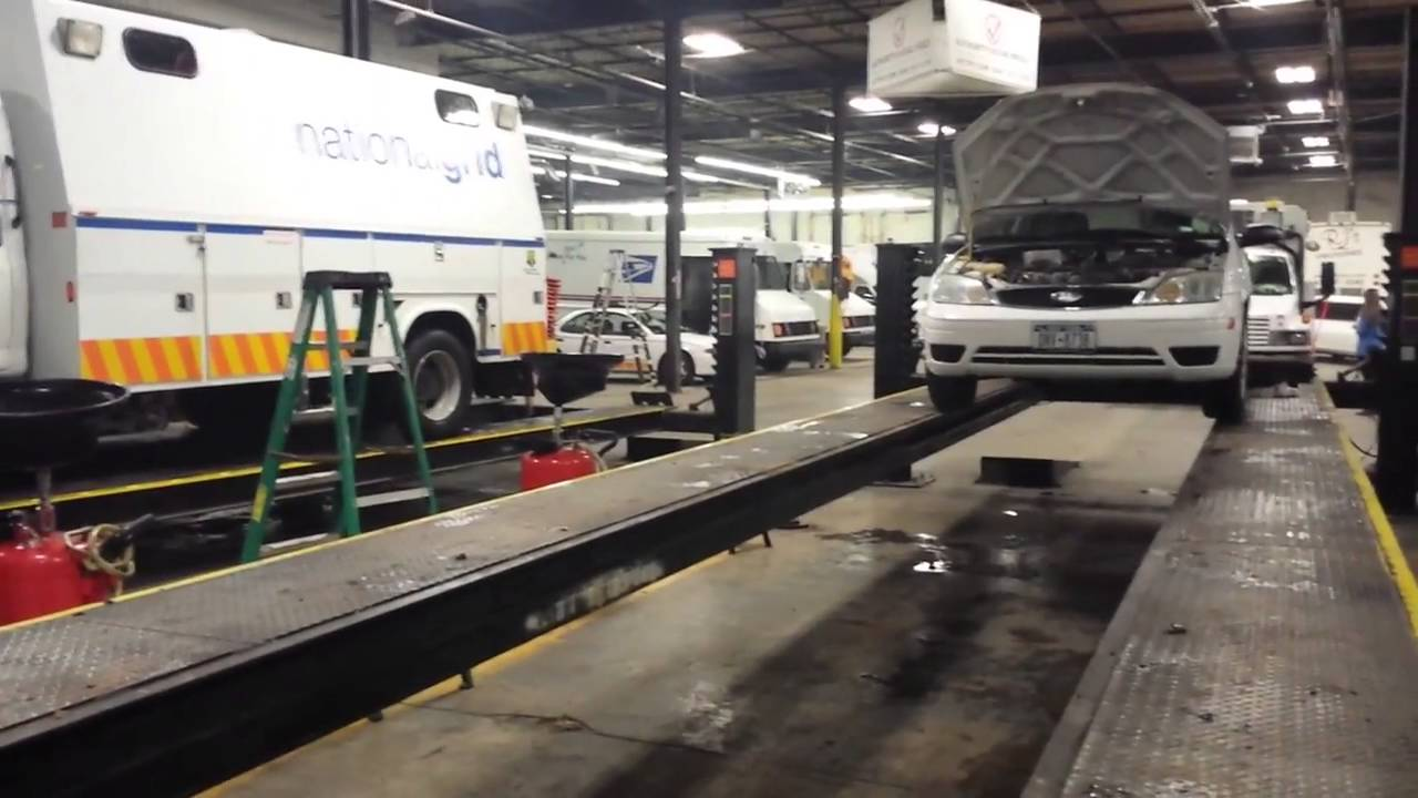 New Jersey Car Inspection Station Paramus
