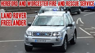 Fire officer responding - Land Rover Freelander(A UK British Fire Officer's unmarked Land Rover Freelander, from Hereford And Worcester Fire And Rescue Service, responding in Worcestershire, UK The plate ..., 2015-06-17T15:30:00.000Z)