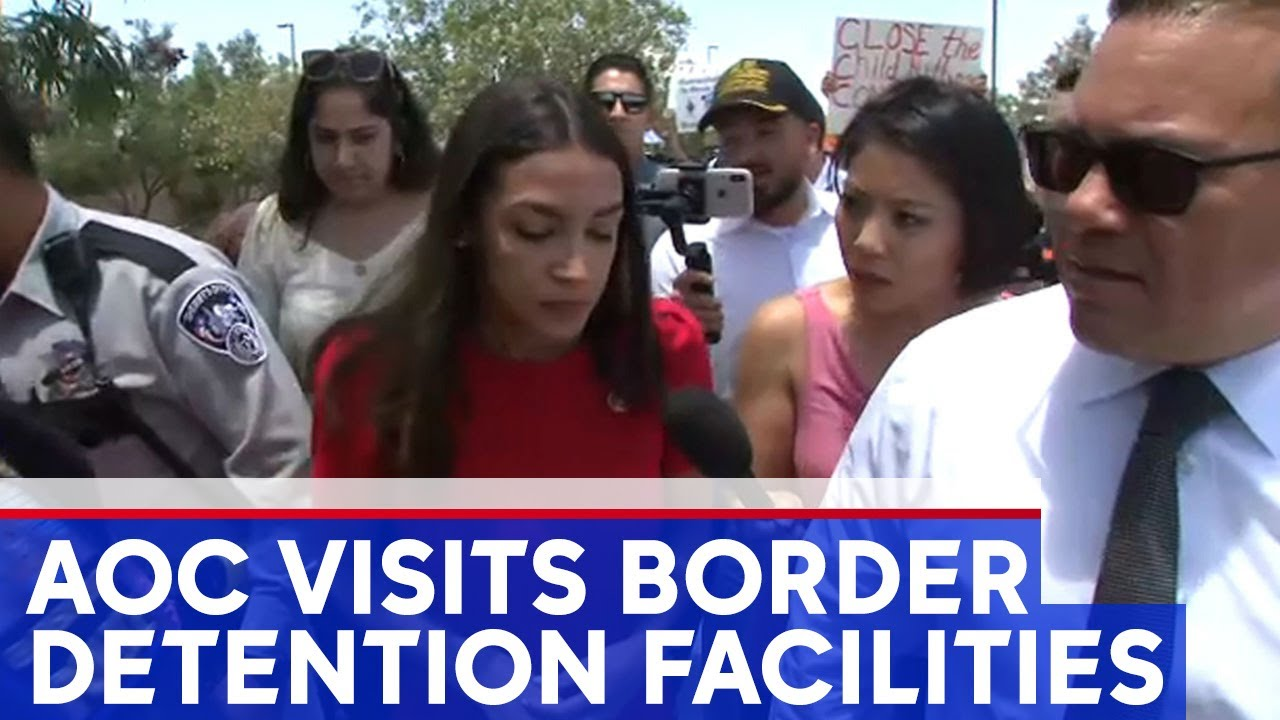 AOC Decries 'Horrifying' Conditions at the Border