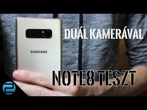 S8+ és egy kis plusz | Samsung Galaxy Note8 teszt